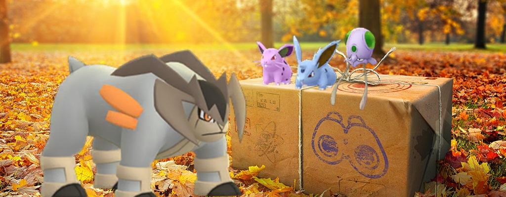 Pokémon GO verkündet Events für November – Neues Shiny und Raid-Boss