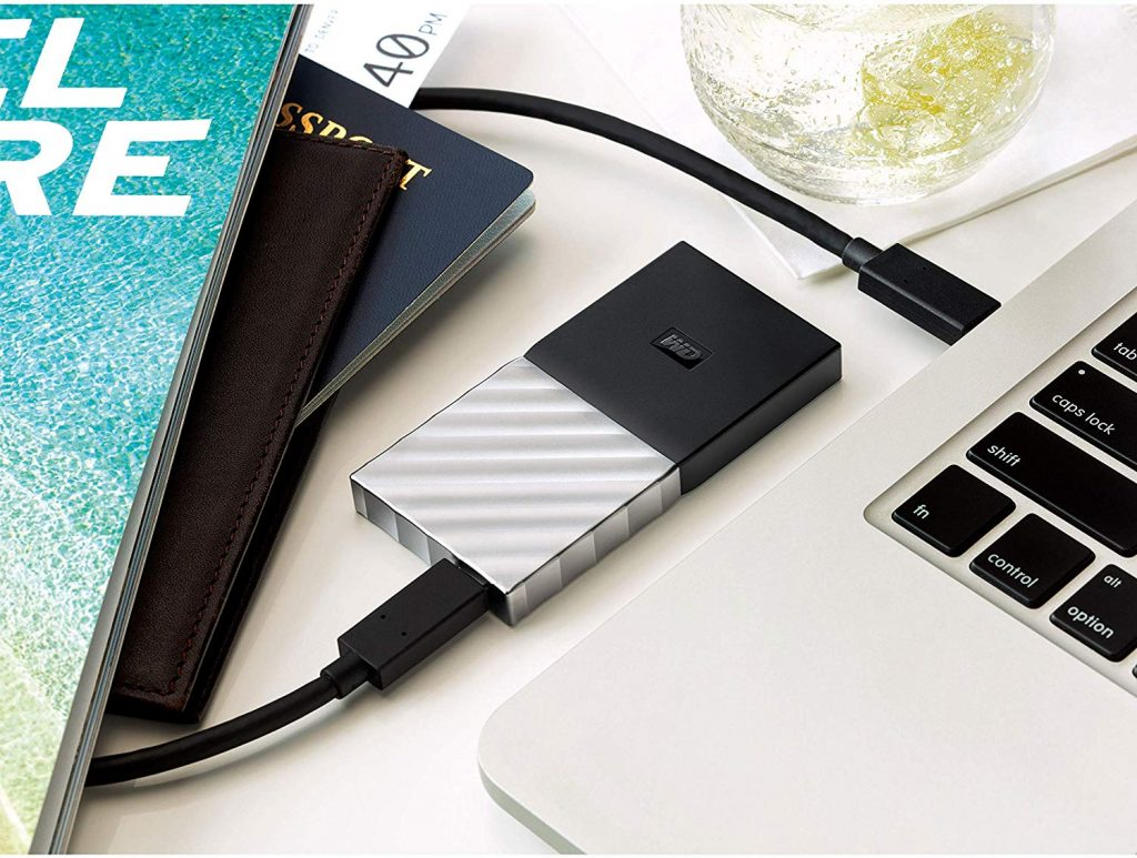 Kleiner Begleiter: Die WD My Passport SSD