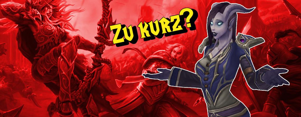 Ich fand WoW: Battle for Azeroth zu kurz – Hat Blizzard Inhalte weggelassen?