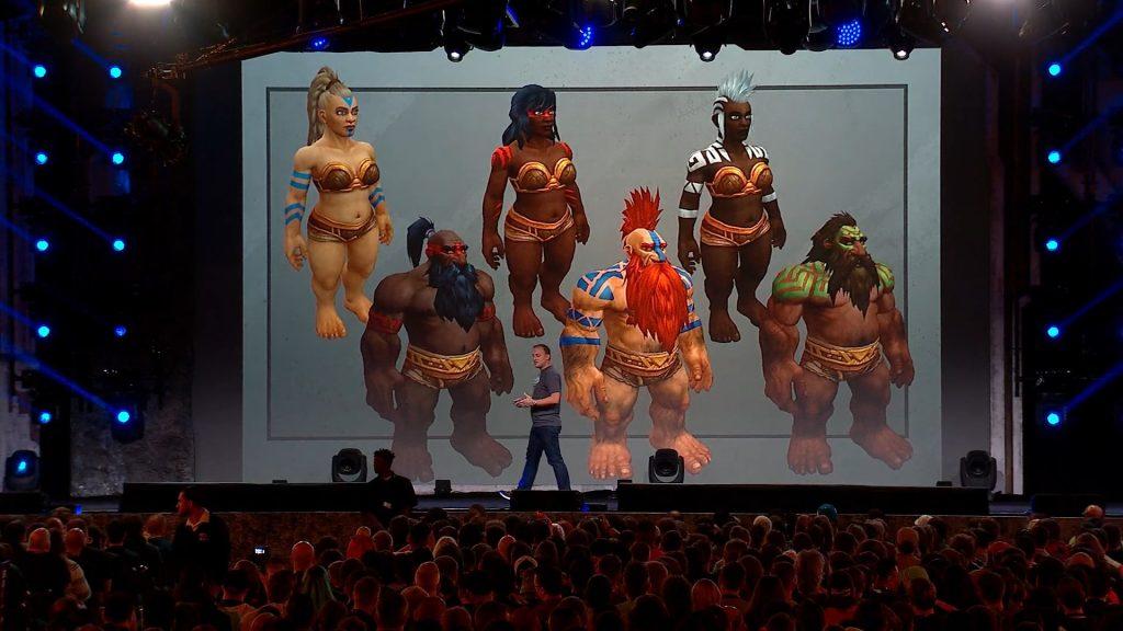 WoW New Customization Dwarfs