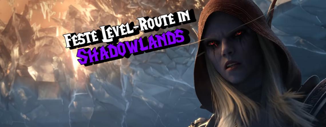 In WoW: Shadowlands müsst ihr die Gebiete in fester Reihenfolge durchlaufen
