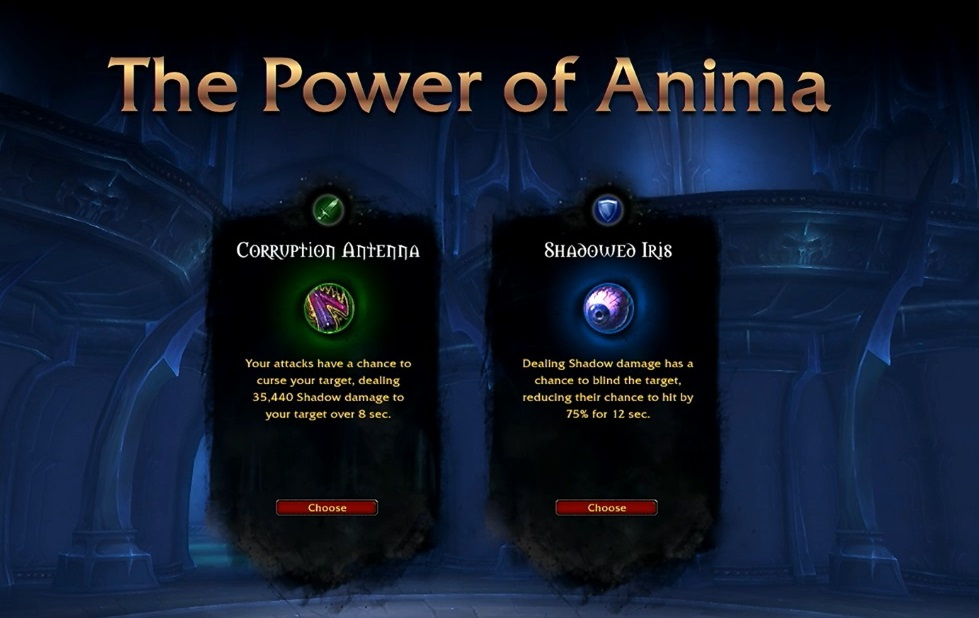 WoW Shadowlands Torghast Abilities 1