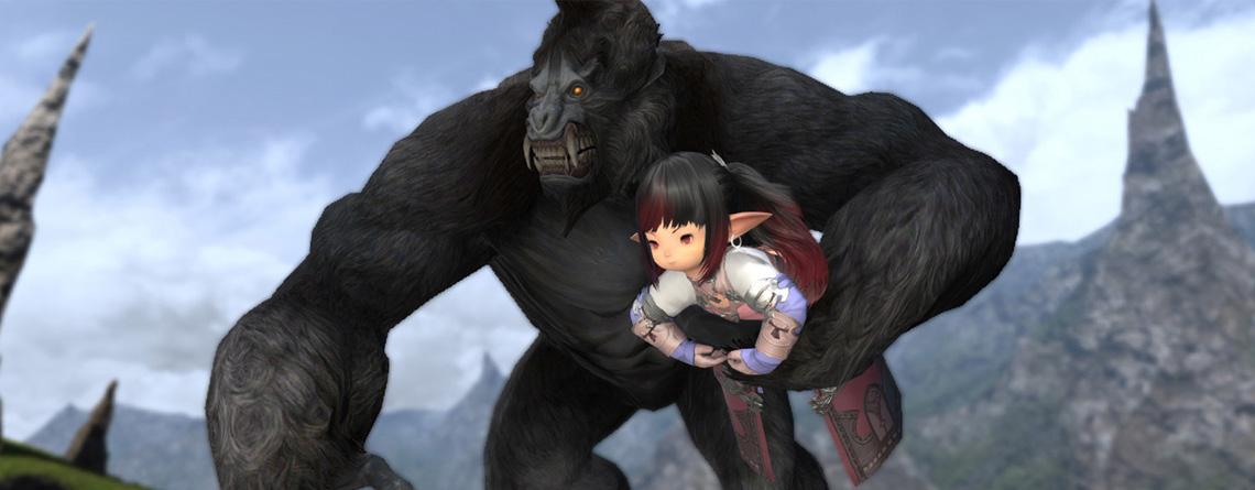 Das neue Mount in Final Fantasy XIV ist quasi King Kong – Und er kann fliegen