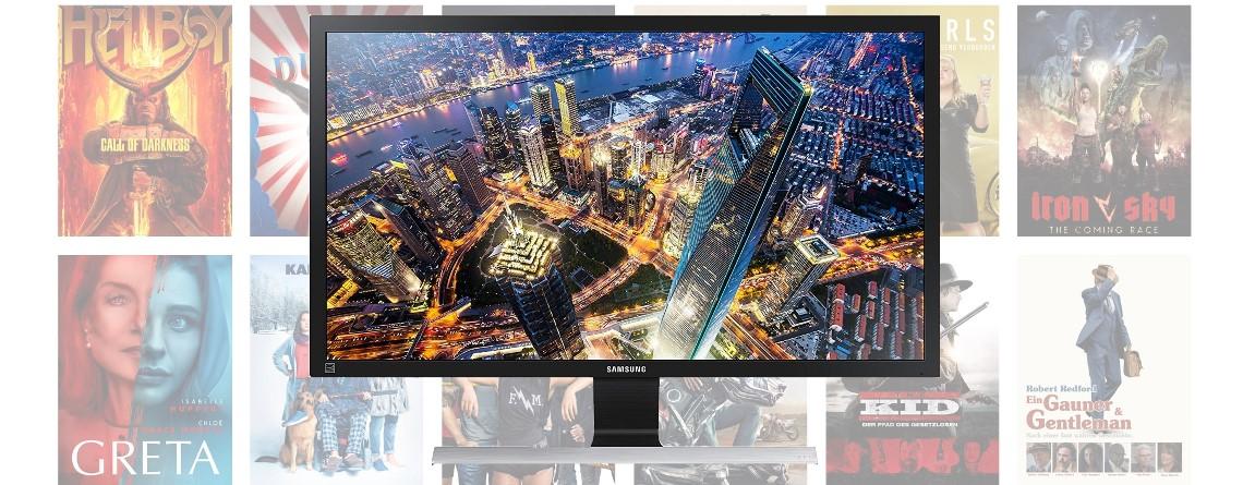UHD-Monitor zum Bestpreis und günstige Leihfilme mit Amazon Prime