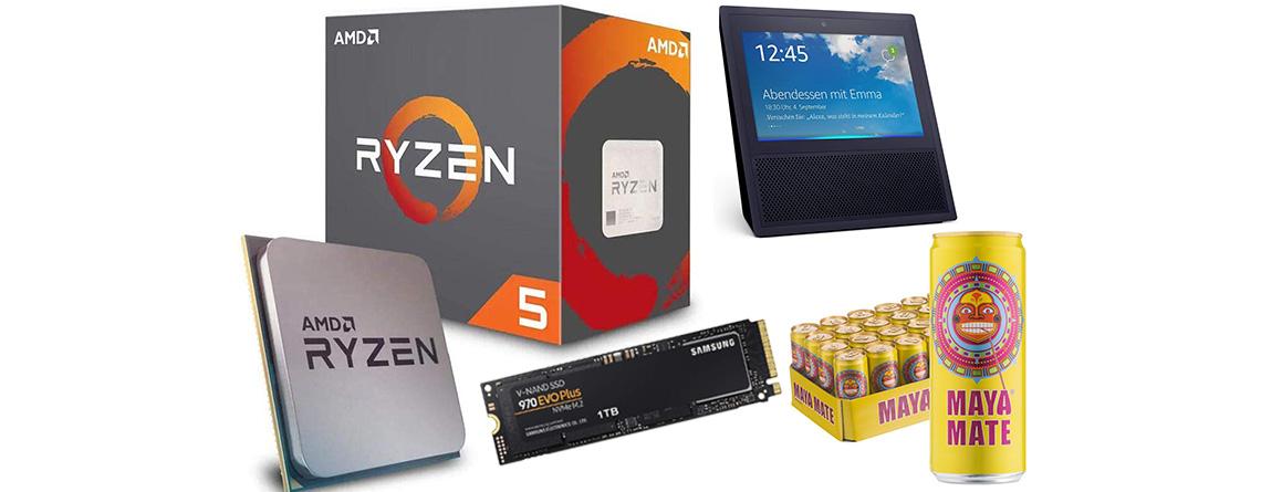 Amazon Angebote zum Black Friday: AMD Ryzen 5 2600 für nur 120 Euro