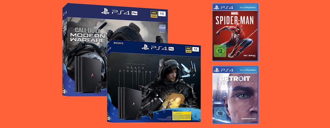 Amazon Black Friday Deals: PS4 Pro Bundles & Spiele günstiger