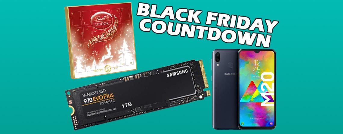 Amazon Black Friday: Samsung 1 TB SSD im Angebot stark reduziert