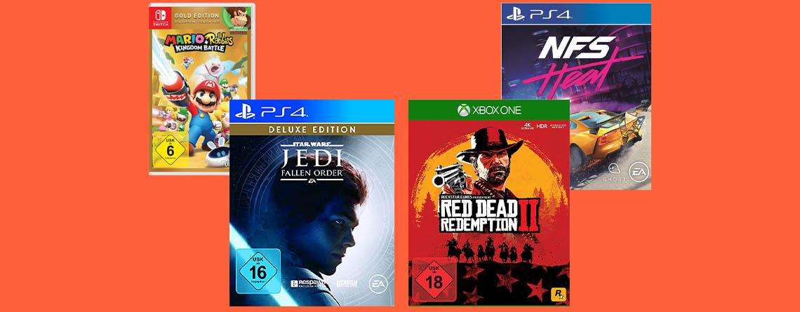 Amazon Black Friday Woche: Die besten Angebote für PS4 & Xbox One