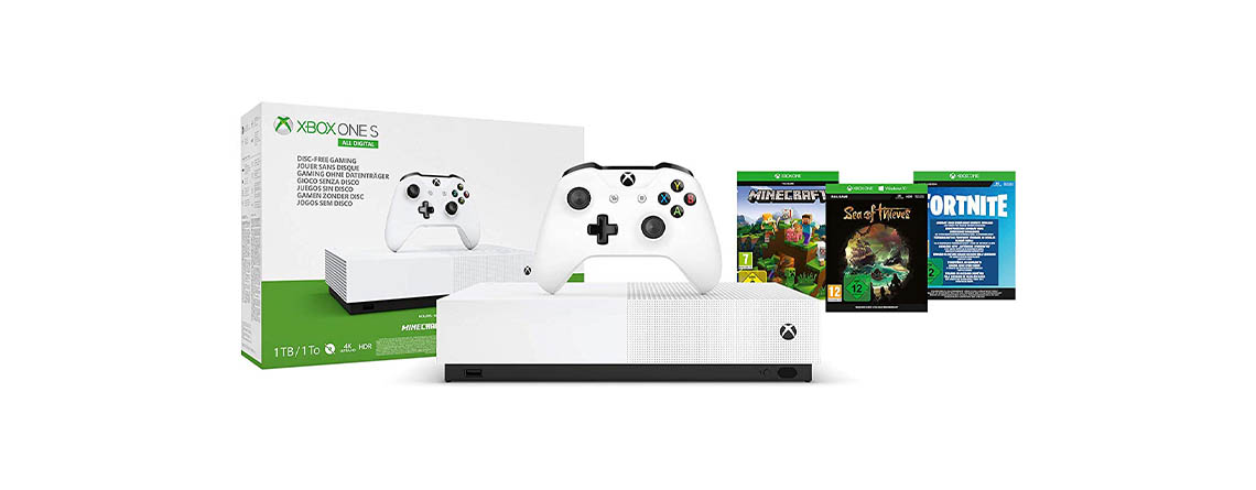Black Friday Knallerangebot: Xbox One S All Digital Edition für nur 99€