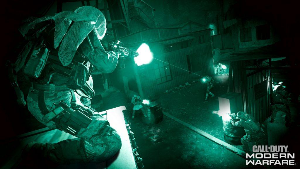 cod modern warfare nightvision action