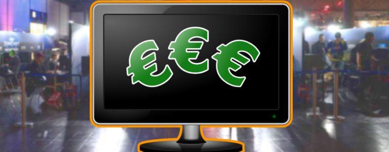esports spiele mit geld titel geld im monitor orange