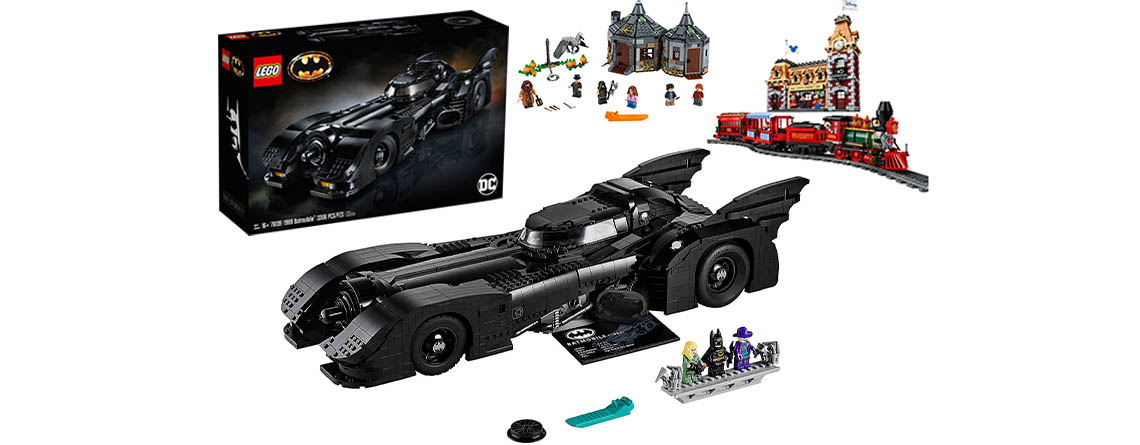 Black Friday bei LEGO: Batmobile Verkaufsstart, starke Rabatte auf Sets