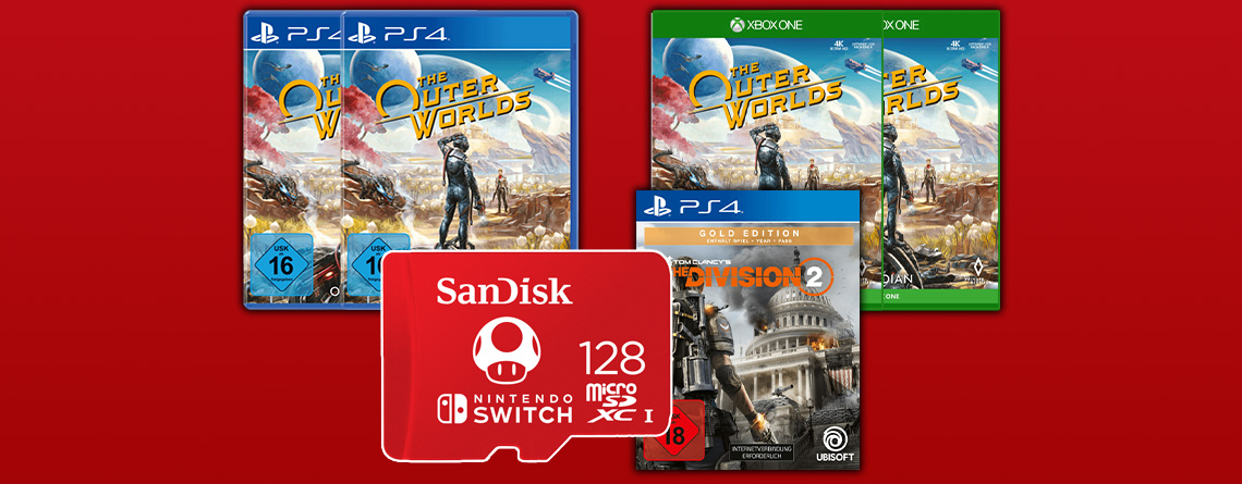 Gönn Dir Dienstag mit Black Friday-Angeboten für PS4 und Xbox One