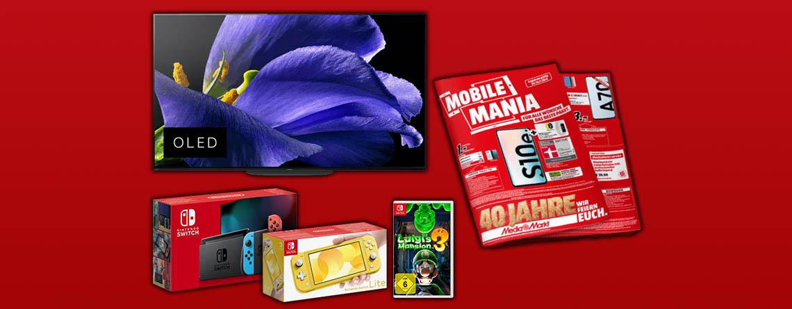 MediaMarkt Prospekt Angebote: Sony 4K OLED TV zum Bestpreis