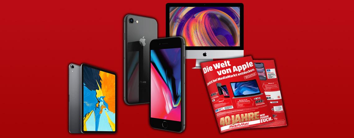 MediaMarkt Prospekt Apple Angebote: iPhone 8 günstig wie nie