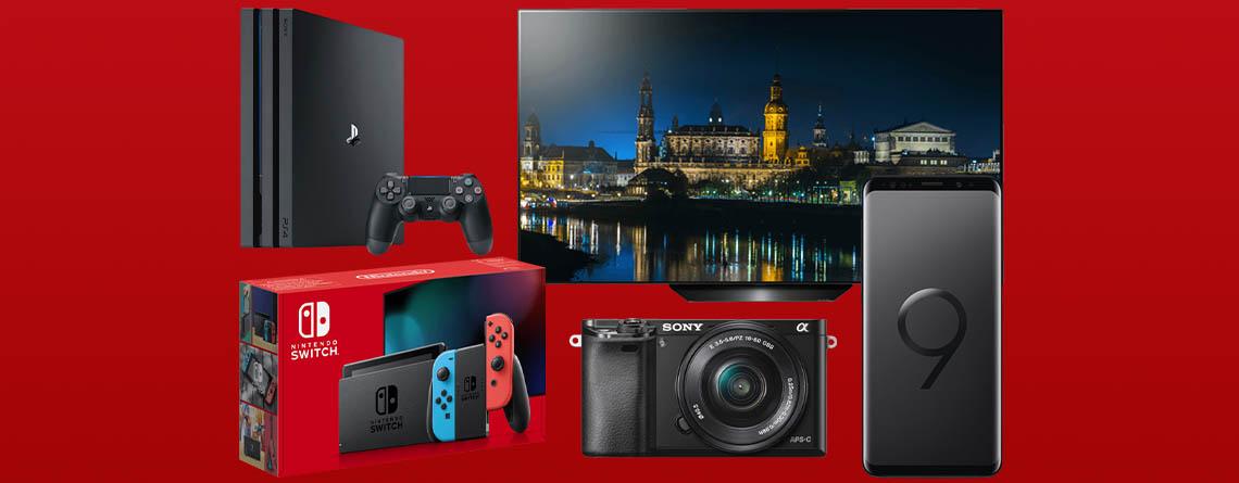 MediaMarkt Red Friday Angebote: LG OLED 4K TV & weitere Top-Deals
