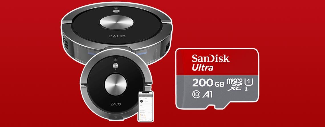 MediaMarkt Red Friday Deal: Saugroboter & Micro-SD Karte günstiger