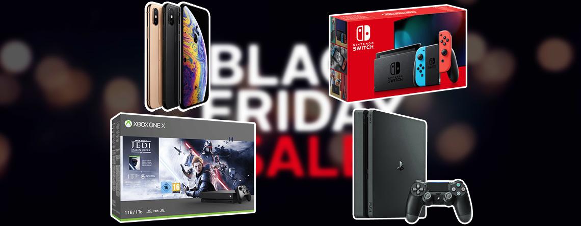 OTTO Black Friday Deals mit Apple, PS4, Nintendo Switch & Xbox One