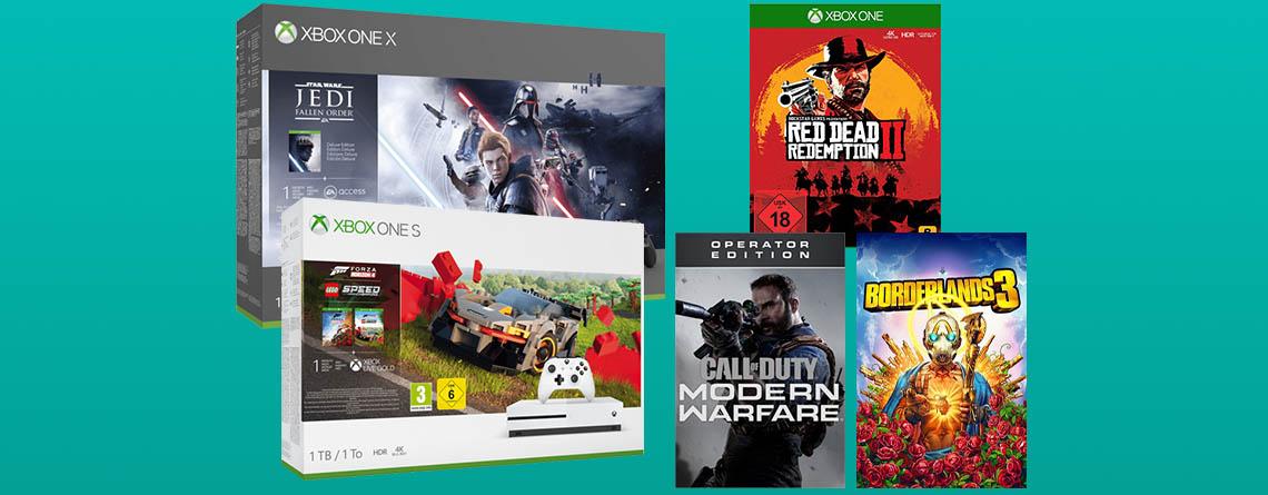 Xbox Black Friday 2019: Konsolen & über 650 Spiele im Angebot günstiger
