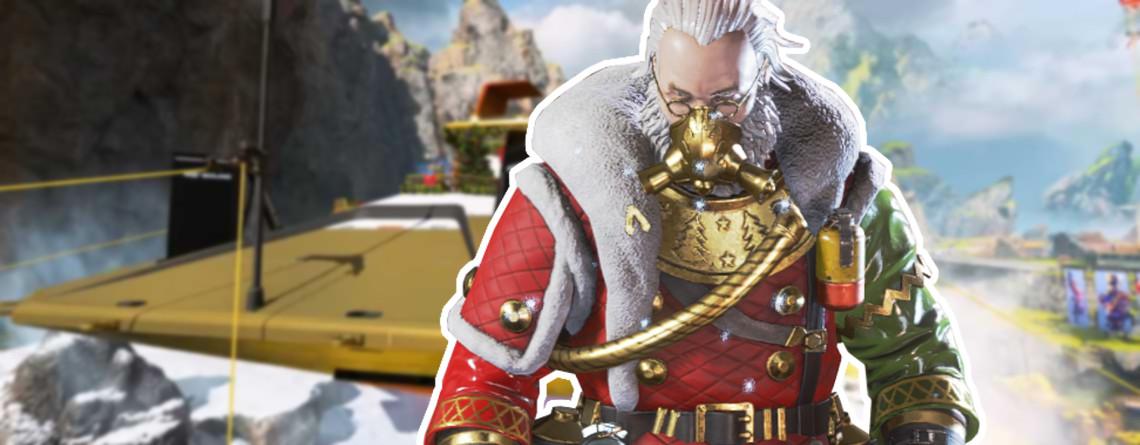 Apex Legends: Caustic wird zum irren Weihnachtsmann – Holt Euch den Skin!
