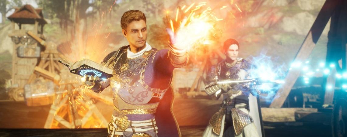 MMORPG Ashes of Creation zeigt Magier in Aktion und jetzt will ich ihn spielen
