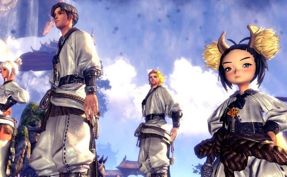 Blade and Soul Himmel Header