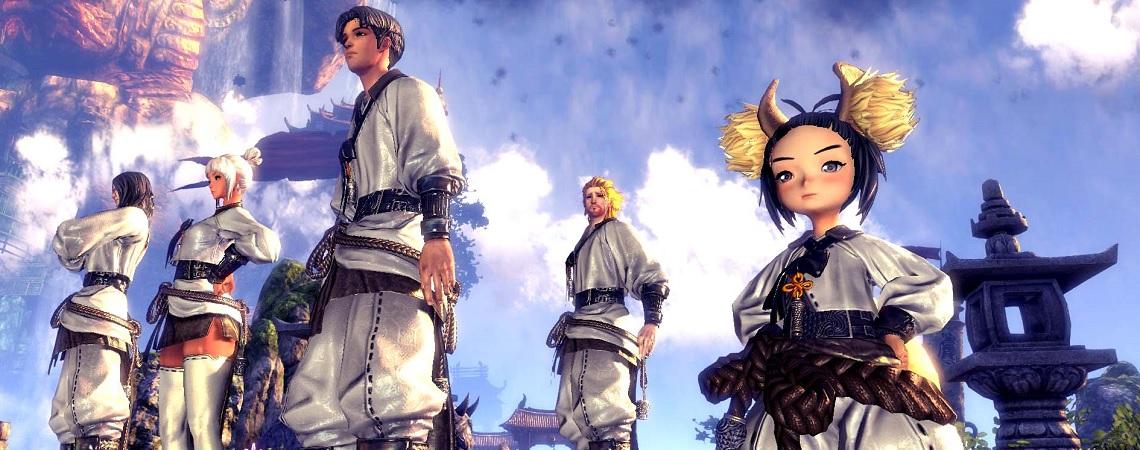 MMORPG Blade & Soul beginnt seine Zukunft mit neuer Engine, verspricht Mounts