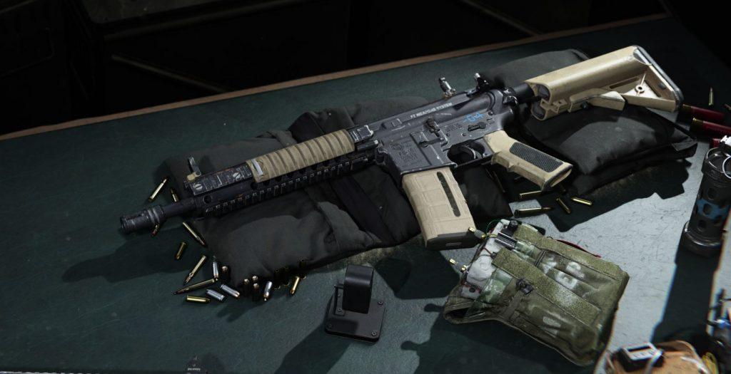 Call fo Duty Modern Warfare m4a1