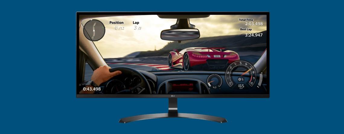 Gaming-Monitor von LG mit UWHD-Auflösung günstig bei Cyberport