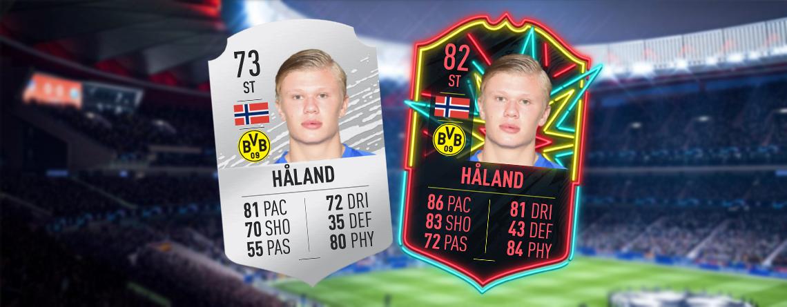 FIFA 20: So stark ist der neue BVB-Transfer Haaland jetzt schon