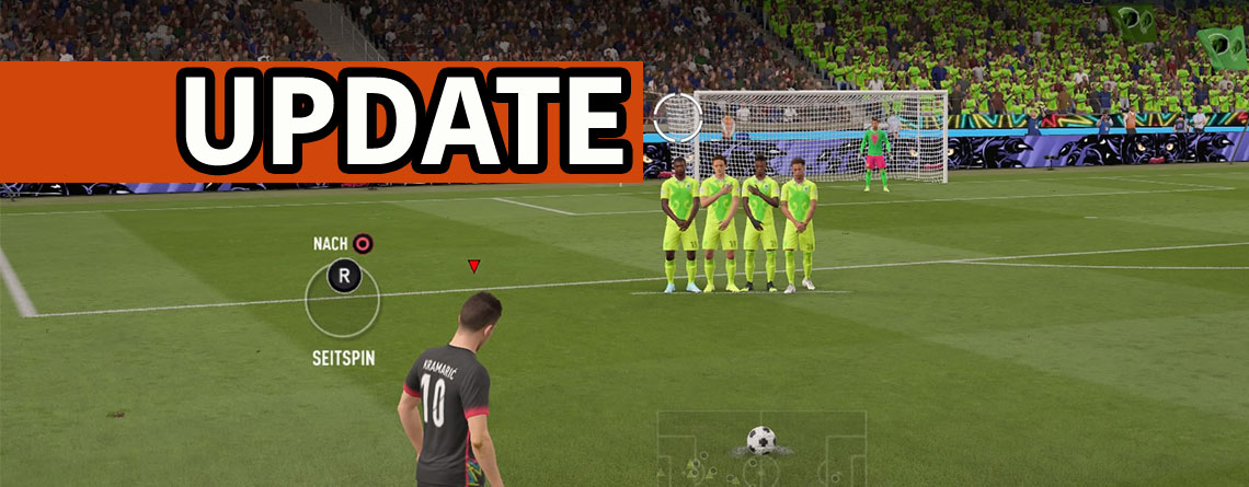 FIFA 20: Nach Title Update 8 müsst Ihr Euch bei Freistößen wieder Mühe geben