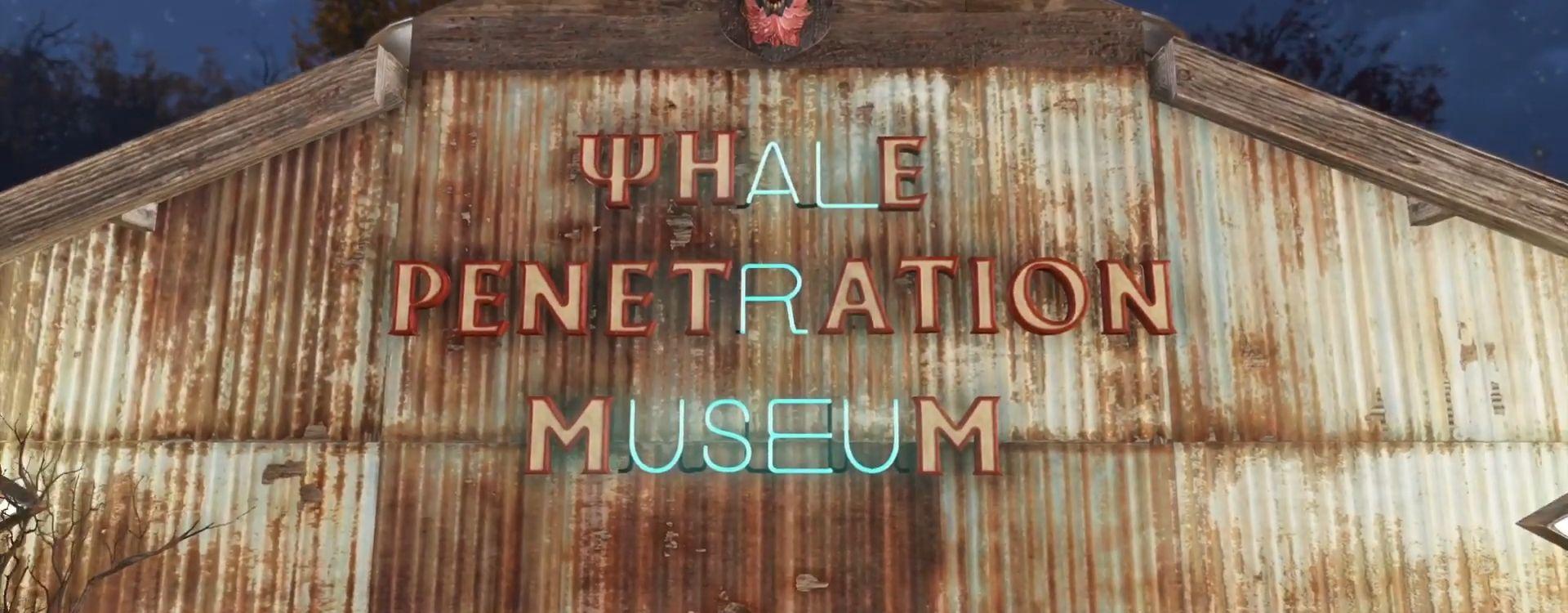 Spieler in Fallout 76 betreibt ein so irres Museum, dass er sogar Eintritt verlangt