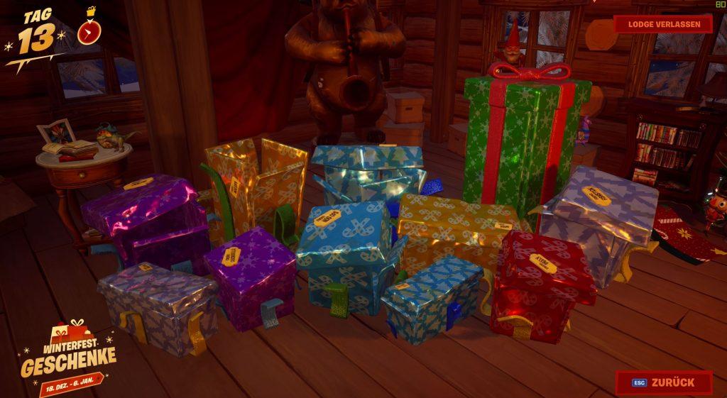 Fortnite-Geschenke