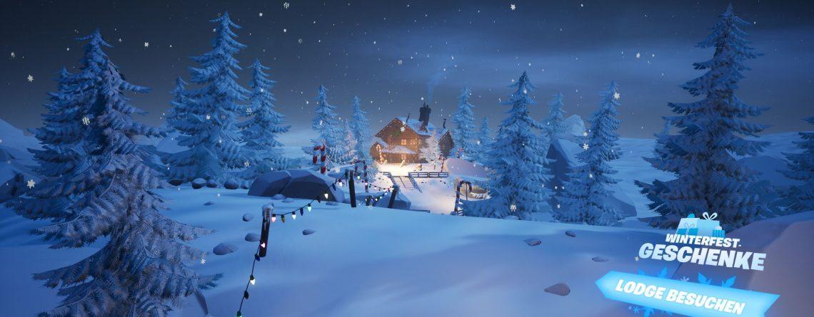 Fortnite Winterfest: So holst du kostenlos den Tannenbaum-Skin