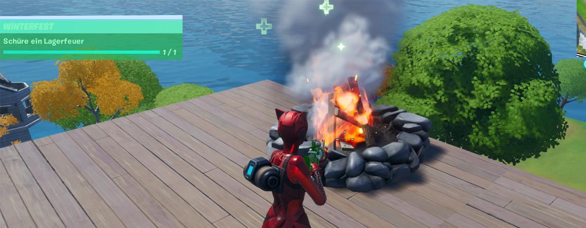 Fortnite: Schüre ein Lagerfeuer – Das sind die Fundorte auf der Map