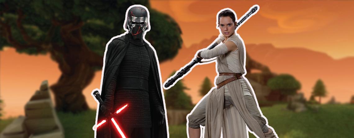 """Fortnite bringt Lichtschwerter, Skins und Kylo Ren zum """"Star Wars""""-Tag"""
