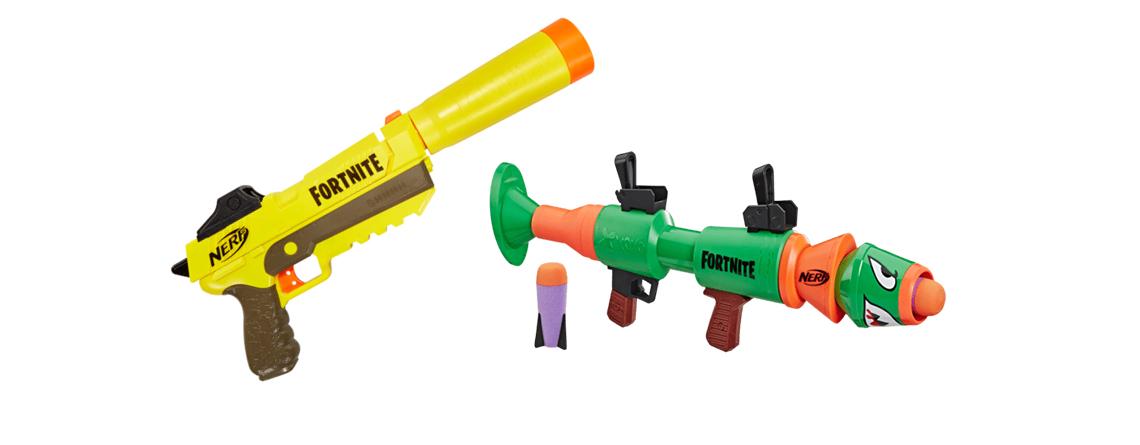 5 Fortnite Nerf Guns, die ihr für Weihnachten bei Amazon kaufen könnt
