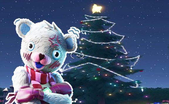 Fortnite weihnachtsbaum Titel