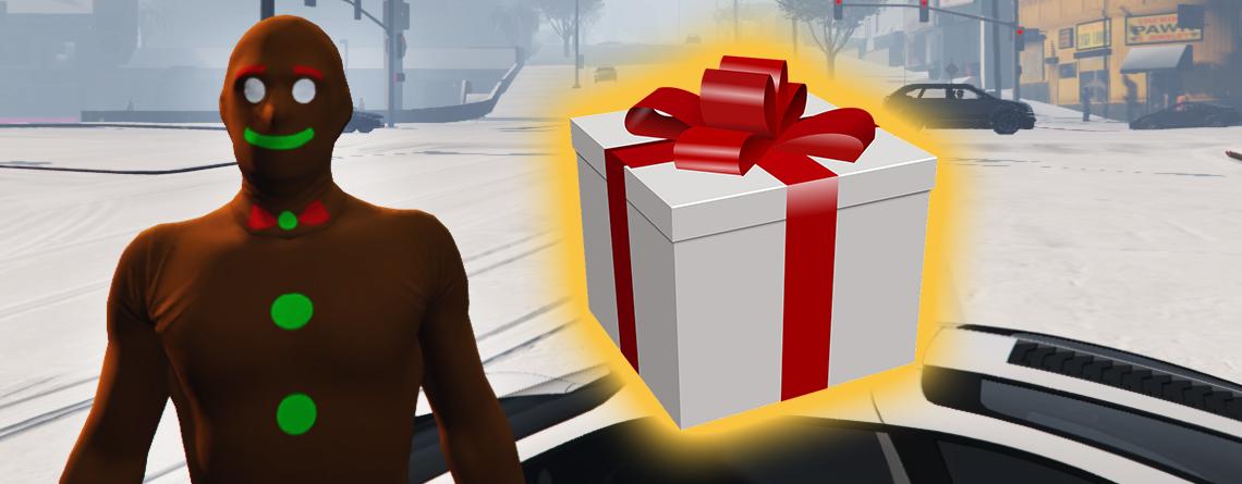 Wer Geschenke liebt, sollte jetzt nochmal bei GTA Online einloggen
