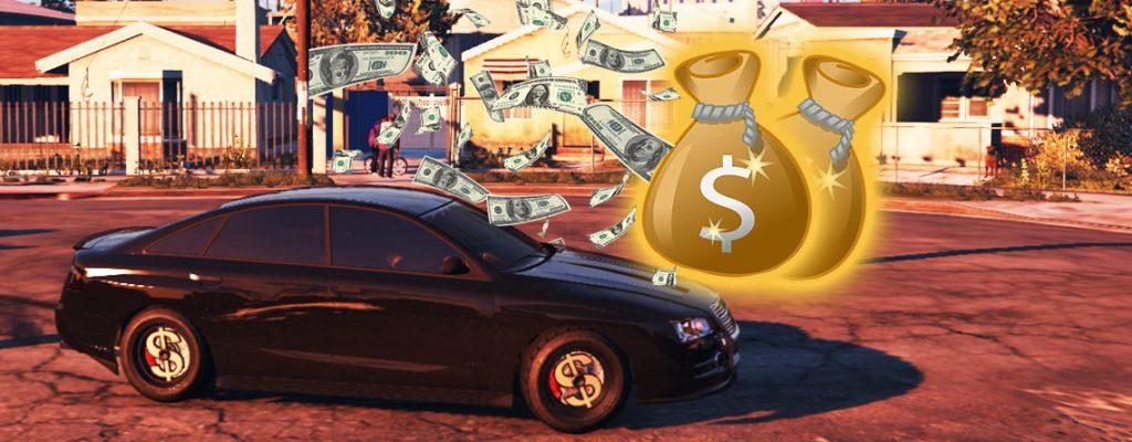 GTA Online Grove Street Geld Titel2