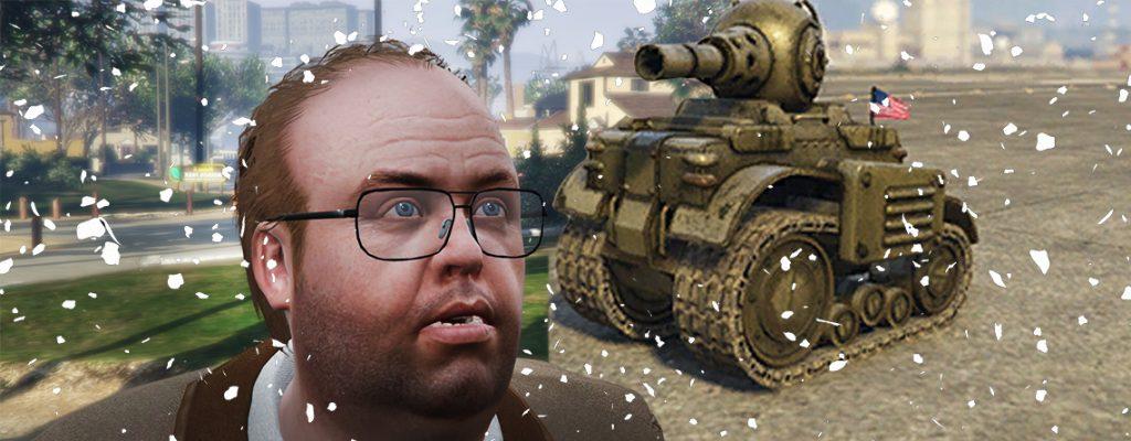 GTA Online Lester Mini-Panzer
