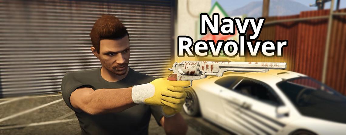 GTA 5 Online: Neue Schatzsuche schenkt euch Navy Revolver – So geht's