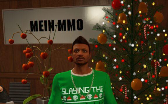 GTA Online Weihnachten Titel Baum CEO