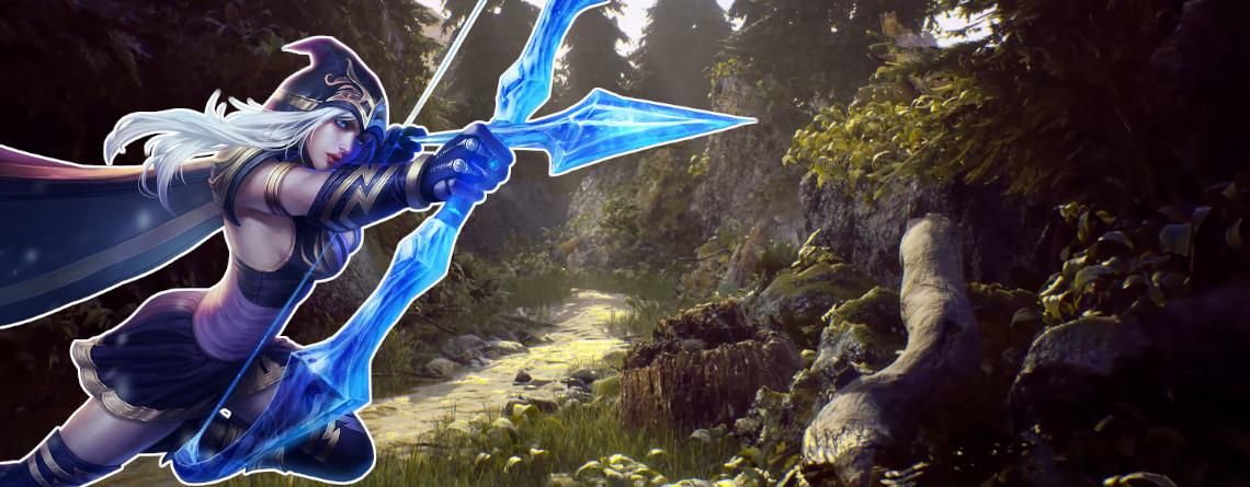 So schön habt ihr die Map aus League of Legends noch nie gesehen