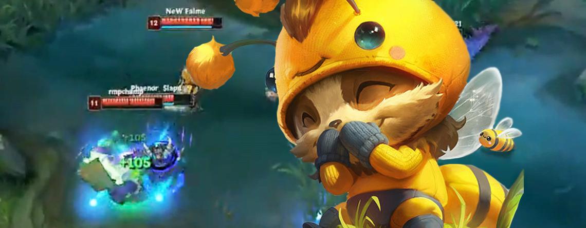 LoL: Spieler gelingt perfekte Flucht, täuscht 4 Gegner gleichzeitig