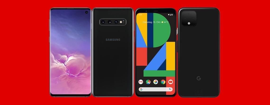 Samsung Galaxy S10, Google Pixel 4 und mehr günstig bei MediaMarkt