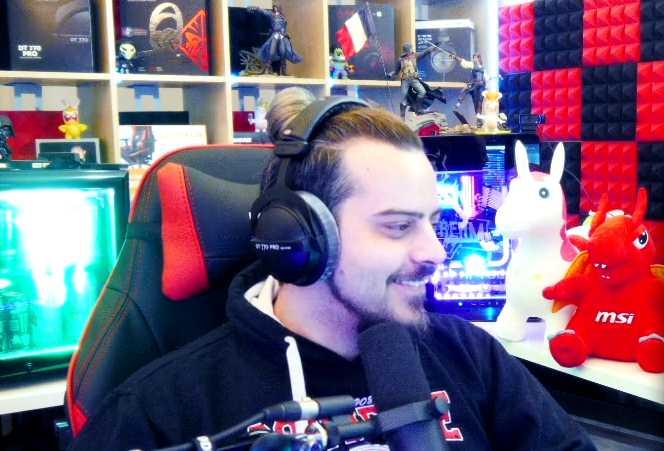 Seansstream Twitch Stream Rekord Ben lacht