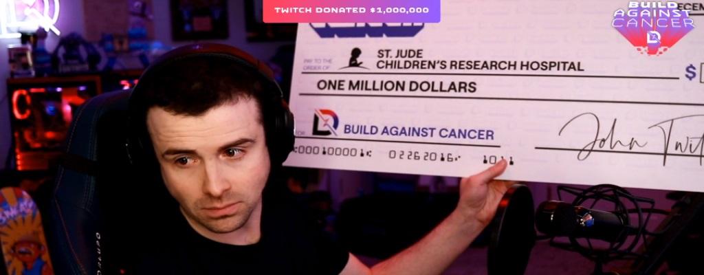 Twitch spendet 1 Mio $ für Kinderkrankenhaus, rührt Streamer zu Tränen