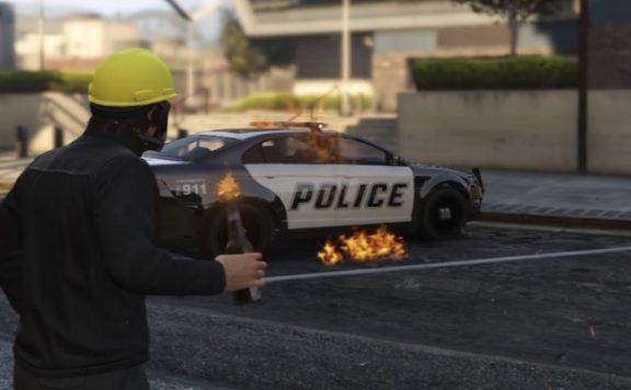 Titelbild GTA 5 Protest