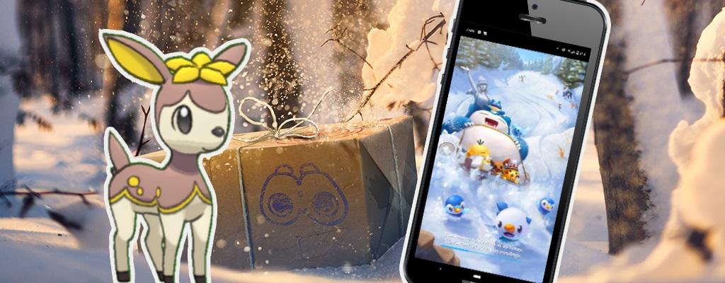 Pokémon GO zeigt Ladebildschirm mit 2 neuen Pokémon aus Gen 5